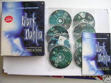 Black Dehlia BIG BOX  EDT  Mega  RARE
